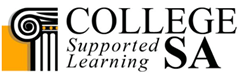 collegeSA logo