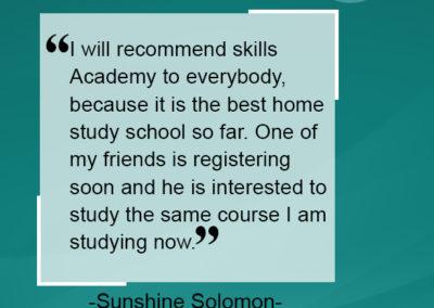 Sunshine Solomon