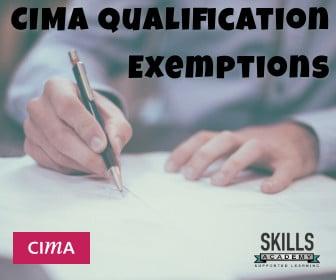 CIMA Qualification Exemptions | Home Study | Skills Academy