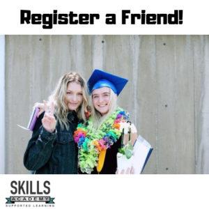 register a friend