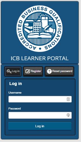ICB Learner Portal 1