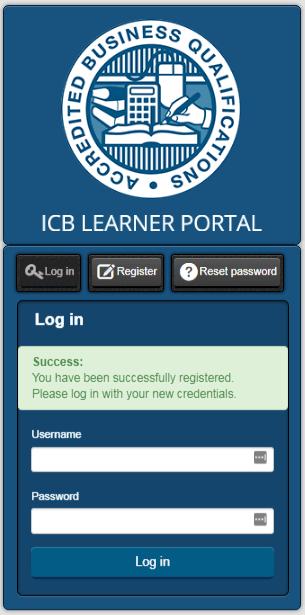ICB Learner Portal 11