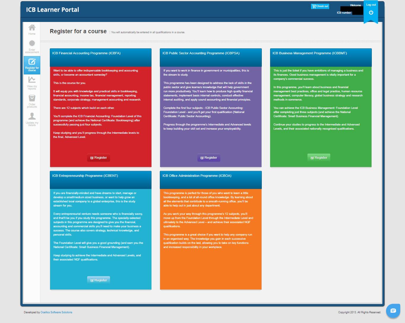 ICB Learner Portal 13