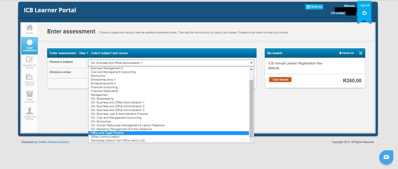 ICB Learner Portal 18