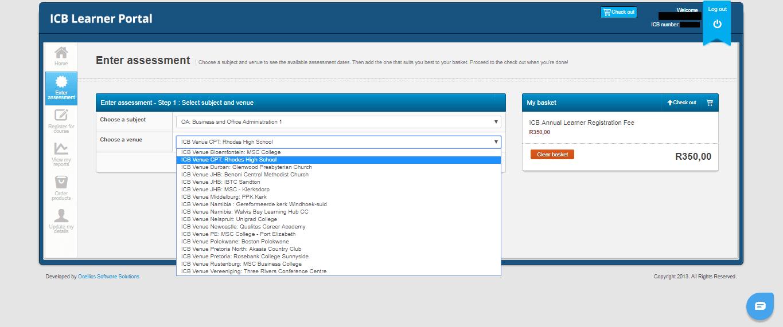 ICB Learner Portal 19