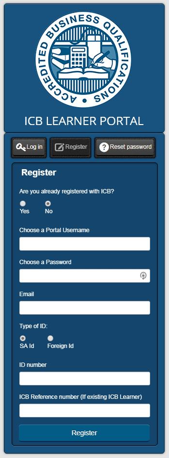 ICB Learner Portal 2