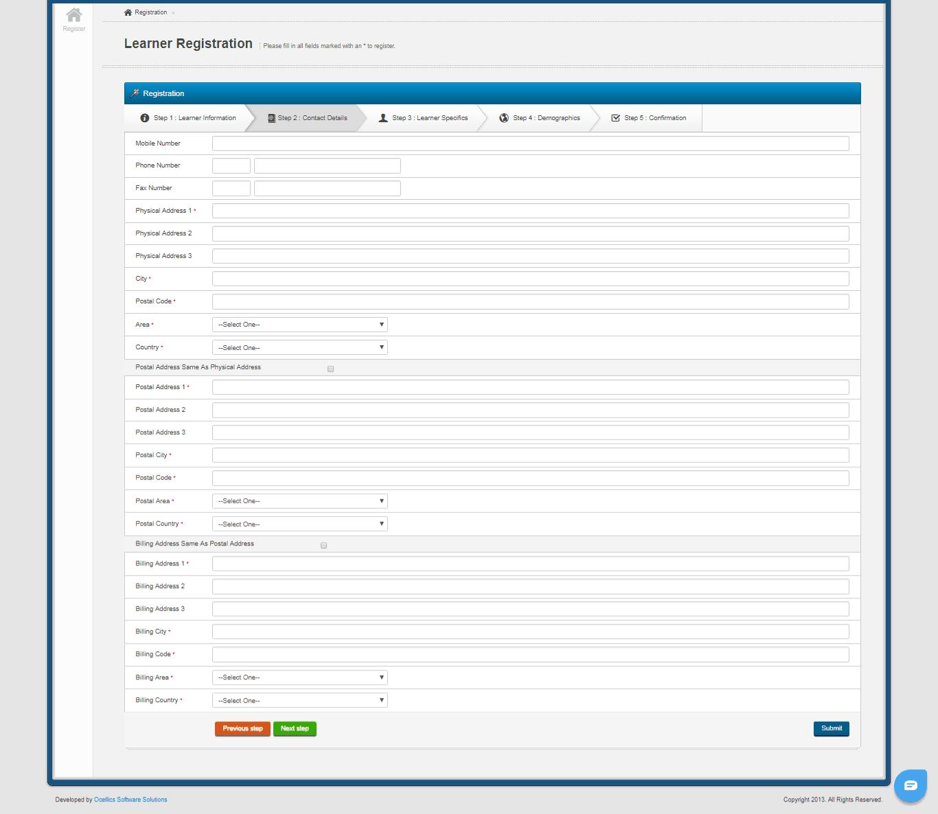 ICB Learner Portal 7