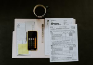 The type of files and records used in accounting careers