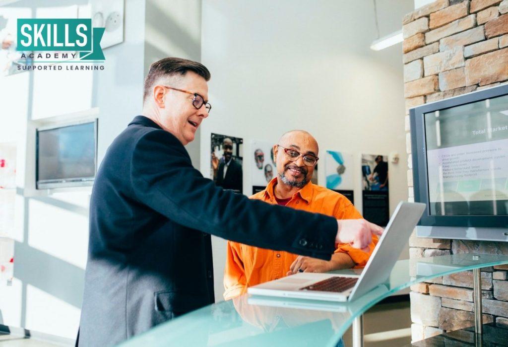 Employer gaining skills with Skills Levies
