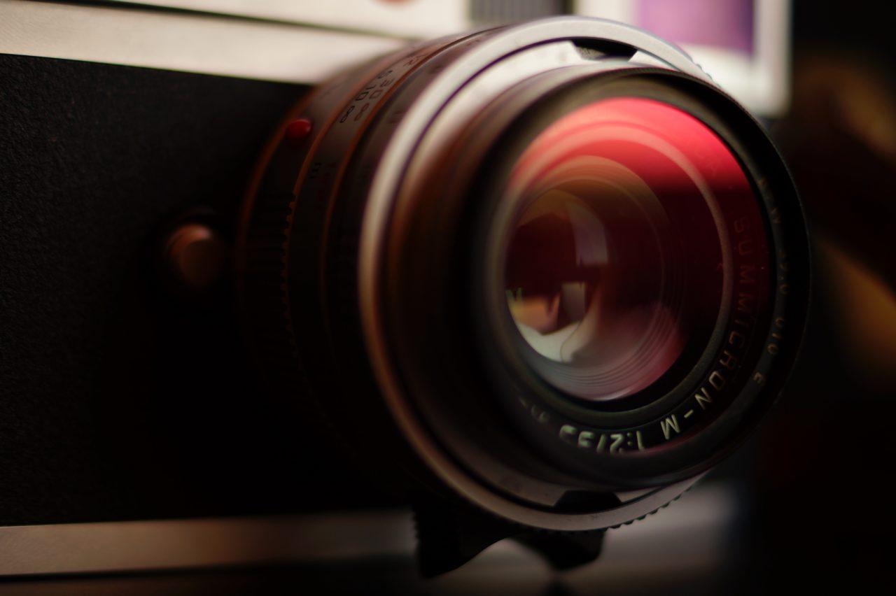 A digital camera lens