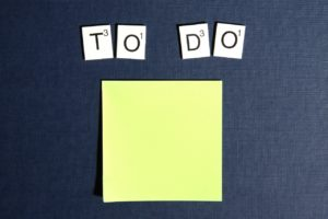 Creating a to do list is one of the best Tips to Avoid Procrastination