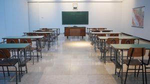 An exam room. Digital Matric Exams may be the future.